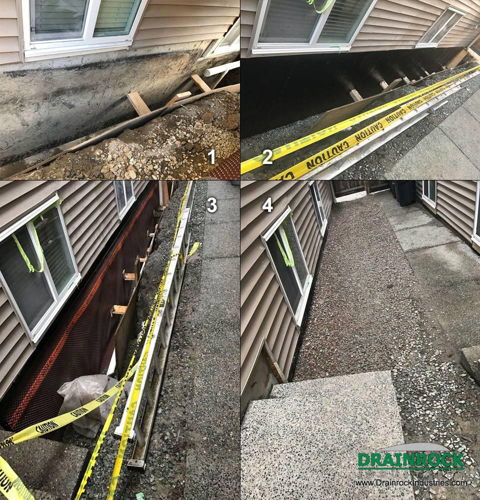 Permanent Fixes For Damp Basements: Foundation Damp-Proofing / Foundation Membrane