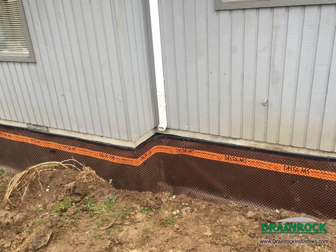Maple Ridge Dump >> Foundation Damp-Proofing / Foundation Membrane   Surrey ...
